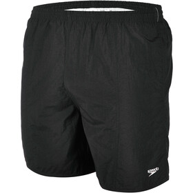 "speedo Solid Leisure 16"" Costume a pantaloncino Uomo, black"